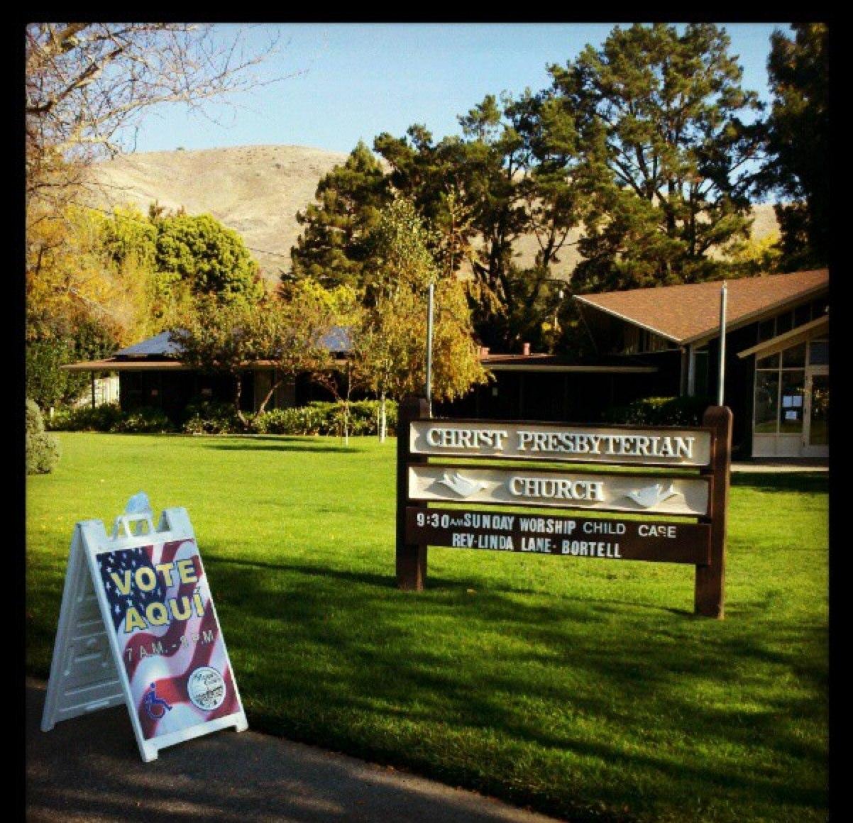 exterior shot o... Exit Polling California