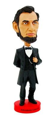 President Lincoln bobblehead doll